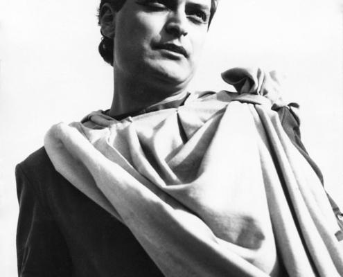 Elettra di Sofocle. Regia di Pacuvio. Con Diana Torrieri, Annibale Ninchi. 1956.