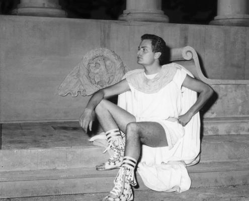 Britannicus di Racine. Regia di Cutrufelli. Con Elena Zareschi, Ottorino Guerrini. 1957.