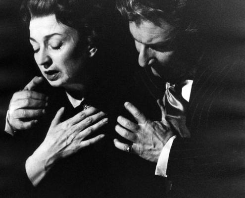 Figli d'arte di Diego Fabbri. Regia di Luchino Visconti. Compagnia Morelli-Stoppa. Con Ilaria Occhini, Corrado Pani, Marcello Giorda. 1958.