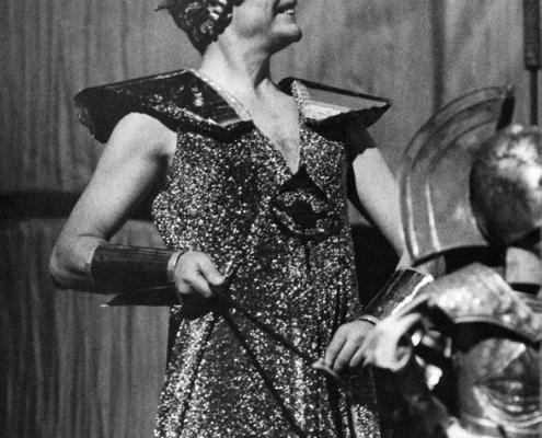 Iliade di Omero. Regia di Giancarlo Sbragia. Con la compagnia e Paola Mannoni, Toni Garrani. 1972.