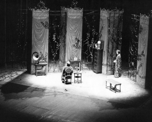 L'uomo difficile di Hugo von Hofmannsthal. Regia di Sergio Fantoni. Con Claudia Giannotti, Liù Bosisio, Anna Bonaiuto, Antonio Ballerio. 1978.