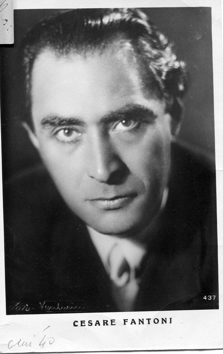 Foto private della biografia di Sergio Fantoni