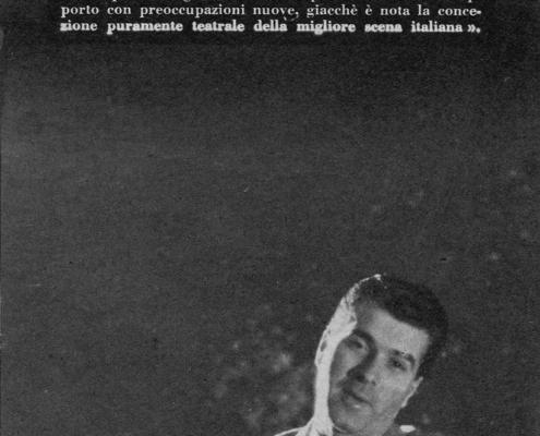 Foto sezione teatro Sergio Fantoni: La trilogia della villeggiatura di C. Goldoni. Regia di Giorgio Strehler. Con Valentina Fortunato, Tino Carraro, Sergio Tofano, Ione Morino, Marcello Giorda, Franco Graziosi, Ottavio Fanfani. 1954