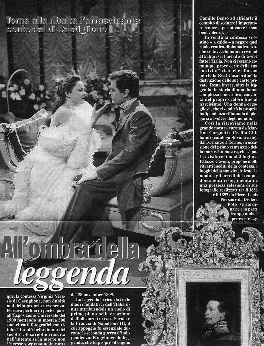 1959-60. Rai, Roma. Ottocento di Salvator Gotta. Regia di Anton Giulio Majano.