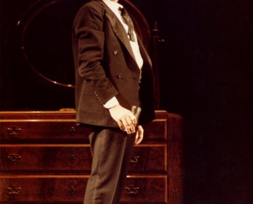Tradimenti di Harold Pinter. Regia di Giuseppe Patroni Grffi. Con Ilaria Occhini, Duilio Del Prete. 1982.