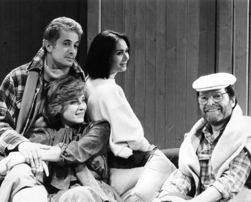 La cosa vera di Tom Stoppard. Regia di Lorenzo Salvati. Con Ilaria Occhini. Duilio Del Prete. 1983.