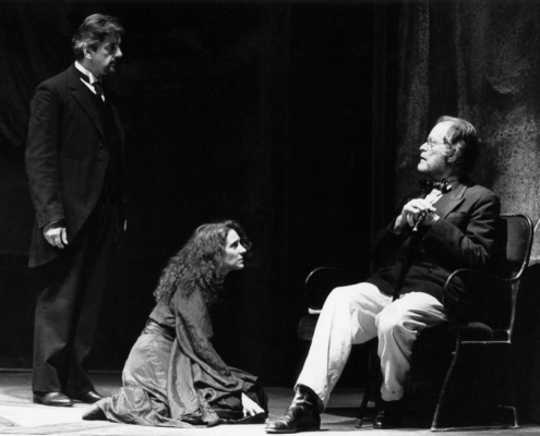 I giganti della montagna di Luigi Pirandello. Regia di Walter Le Moli. Con Elisabetta Pozzi. 1991.