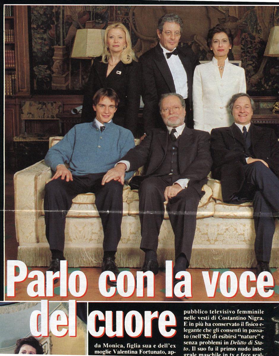 1999. Rai. Fine secolo Regia di Gianni Lepre.