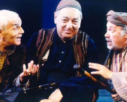 Le furberie di Scapino di Moliere. Regia di Sergio Fantoni. Con Paolo Bonacelli, Cesare Saliu, Luigi Tontoranelli, Luigi Angelillo. 2001.