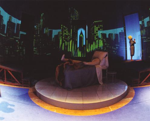 Giù dal monte Morgan di Arthur Miller. Regia di Sergio Fantoni. Con Andrea Giordana, Benedetta Buccellato, Giorgia Senesi. 2006.